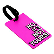 Travel Luggage Tag - NO, NO ES SUYO