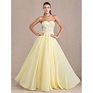 TS Couture Formal Evening / Prom / Military Ball Dress - Daffodil Plus Sizes / Petite Sheath/Column Sweetheart Floor-length Chiffon