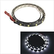 carking ™ 5050-36smd-90 centímetros decorativo lâmpada do carro à prova de água strip-negro