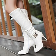 Women's Shoes Round Toe Stiletto Heel Knee High Boots More Colors available