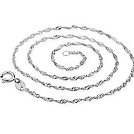 Women's Water Wave Necklace