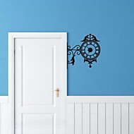 Wall Clock Stickers Wall Decals, Home Decoration Clock PVC Wall Stickers