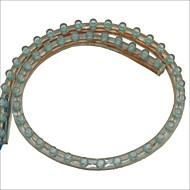 carking ™ pvc-48cm flexibele waterdichte LED Light Strip voor auto's / motorfietsen-2pcs
