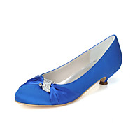 Women's Wedding Shoes Heels Heels Wedding/Party & Evening Black/Blue/Pink/Purple/Ivory/White/Silver