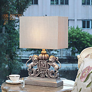 résine de motif de lion de la lampe de table eidehi®