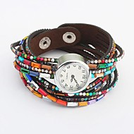 Women's European Style Punk Personality Bracelet Watch