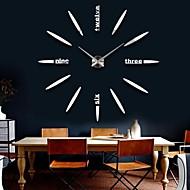 天 普 创意 时尚 个性 3d 立体 поделки 装饰 挂钟 12s012