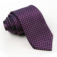 Cravate Soirée / Travail / Décontracté Polyester,Homme Imprimé Toutes les Saisons