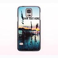 gepersonaliseerde telefoon case - gras en de zee ontwerp metalen behuizing voor Samsung Galaxy S5 mini