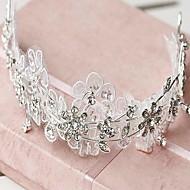 joustava timantti kruunun morsian headpieces