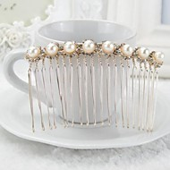 The Latest Style Of  Korea Lovely Pear(L) With Rhinestone Hair Combs