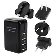 ny 4port usb power torden oplader til ipad iphone samsung 5v 2a