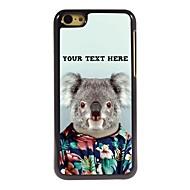персонализированные телефон случае - коала дизайн корпуса металл для iPhone 5с