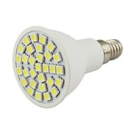 5W E14 Spot LED 30 SMD 5050 380 lm Blanc Chaud Blanc Froid Décorative DC 12 V