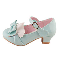 Girl's Shoes Heels Chunky Heel Faux Leather Pumps/Heels Shoes More Colors available