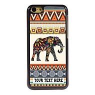 персонализированные телефон случае - слон дизайн корпуса металл для iPhone 5с