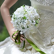 Elegant Round Shape Hydrangea Roses Bridal Wedding Bouquet(More Colors)