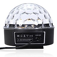 lt-85364 altı renkli led uzaktan kumanda kristal sihirli topu lazer projektör (240v.1x lazer projektör)