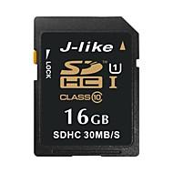 J-like 16GB SDカードサポート メモリカード UHS-I U1 クラス10