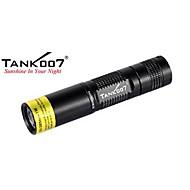 Tank007® LED Flashlights/Torch / Handheld Flashlights/Torch LED Lumens 1 Mode - AA Waterproof / Nonslip gripEveryday Use / Multifunction