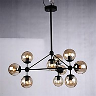 Pendant Light 10 Lights Country Style Wrought Iron