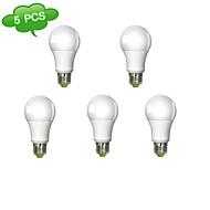 5PCS DUXLITE®  A60 E27 14W(=Incan 120W) CRI>80 COB LED 1260LM 3000K Warm White Light LED Globe Bulb (AC 100-240V)