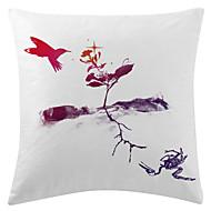 twopages® flygande fågel sammet dekorativa kuddöverdrag