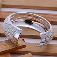Armband Dam Icke sten Silver
