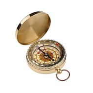 NEEWER® Outdoor Camping Hiking Portable Brass Pocket Golden Compass