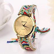Women Big Circle Dial  National Hand Knitting Brand Luxury Lady Watch C&D-275 Cool Watches Unique Watches