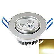 תאורת תקרה מובנה 3PCS COB 300-350 lm לבן חם דקורטיבי AC 85-265 V