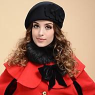 Women Wool Blend Beret Hat , Vintage/Cute/Party/Work/Casual Winter