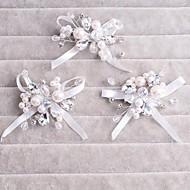 mão-frisado de cristal do casamento acessórios para o cabelo hairpin borda pequeno doce em sacos Garras (mais cores)