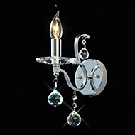 Crystal Wall Sconces , Traditional/Classic E12/E14 Metal
