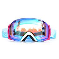 Basto cornice bianco blu sensori occhiali da neve sci antivento
