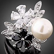 Prstenje sa stavom Neformalan ( Legura/Kubični Zirconia/Umjetno drago kamenje