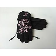 gants chauds chauffants électriques rechargeables élastique réglable&bande de velcro, fonctionne jusqu'à 8 heures