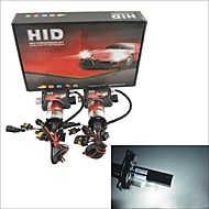 Carking ™ 12V Kit 35W H4-2 6000K Luz Blanca HID Xenon