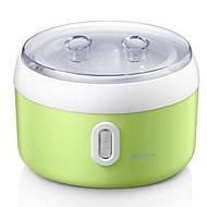 worldapp 500 až 1000 ml automatické multifunkční abs liner jogurt stroj 220v
