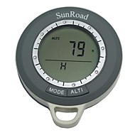 SR108N Mini Multifunction Digital Altimeter & Compass (Gray)