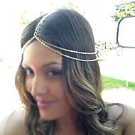 Miss ROSE®Fashion Double Chain Golden Headband