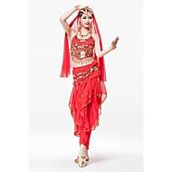 vatsatanssi teattereille asuja housut intialainen tyyli puku 4 kpl
