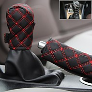 Claretred Car Handbrake Cover Car Gear Set Dangba Sets Gear Sets Hand Brake Set Twinset