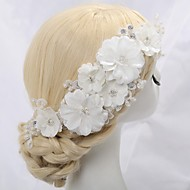 Women's/Flower Girl's Lace/Crystal/Alloy/Imitation Pearl Headpiece - Wedding/Special Occasion Flowers