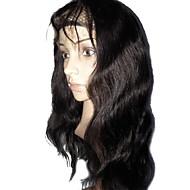 プロモーション最高品質のブラジルのレースのフロント人間の髪の毛は、130%1Bボディ波グルーレスなかつらをかつら