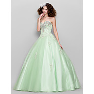 Prom/Formal Evening Dress - Sage Ball Gown Sweetheart Floor-length Tulle