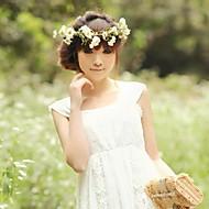 Women's Satin/Rubber Headpiece - Wedding/Special Occasion/Outdoor Flowers/Wreaths