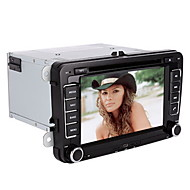 7 inch 2 Din Universal Car DVD Player for Volkswagen Support BT,RDS,Touchscreen