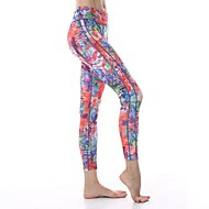 Yokaland Three-Dimensional Cut Slim Fit Yoga Capri With Flower Print