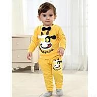 dětský set na jaře a na podzim dlouhý rukáv sady tričko a kalhoty dítě nastavit dva kusy sady